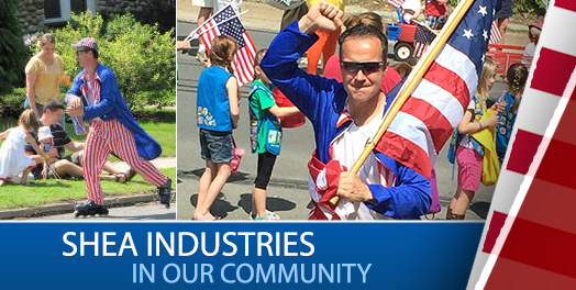 Shea Industries are proud to be part of our community.